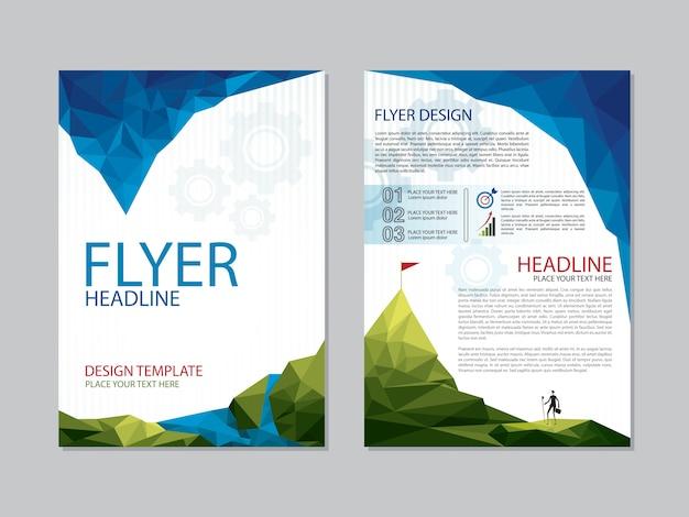 Design del titolo flyer