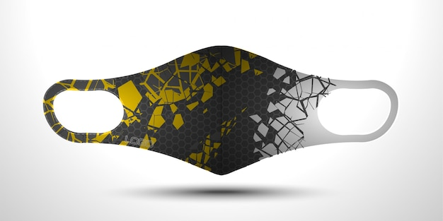 Design del viso di sicurezza per scuba masker.