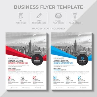 Design del volantino aziendale