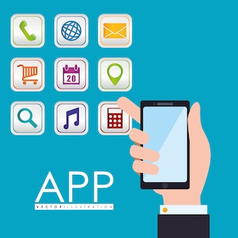 Design dell'app