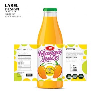 Design dell'etichetta