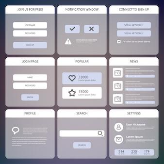 Design dell'interfaccia utente mobile