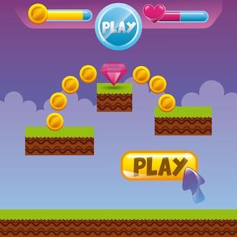 Design dell'interfaccia videogame