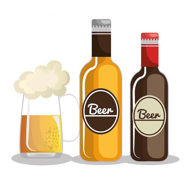Design della birra della germania
