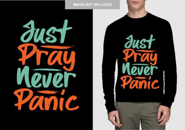 Design della camicia con scritte. tipografia disegnata a mano