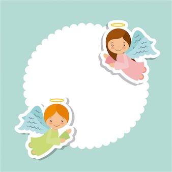 Design della carta degli angeli