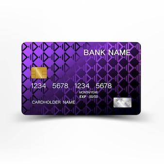 Design della carta di credito