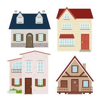 Design della collezione di case