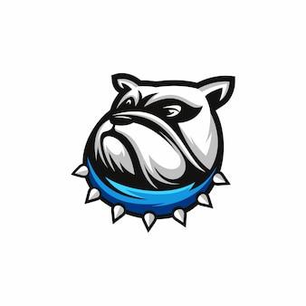Design della testa bulldog