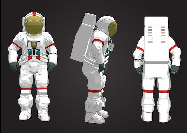 Design della tuta spaziale