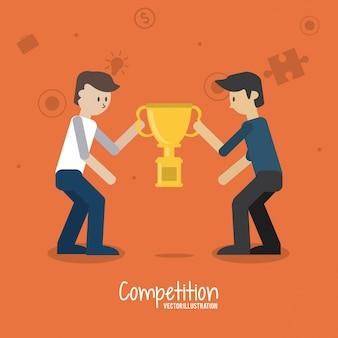 Design delle icone competitivo