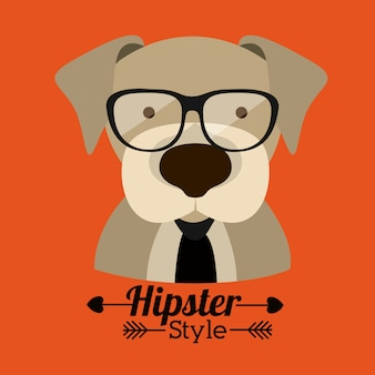 Design di animali hipster