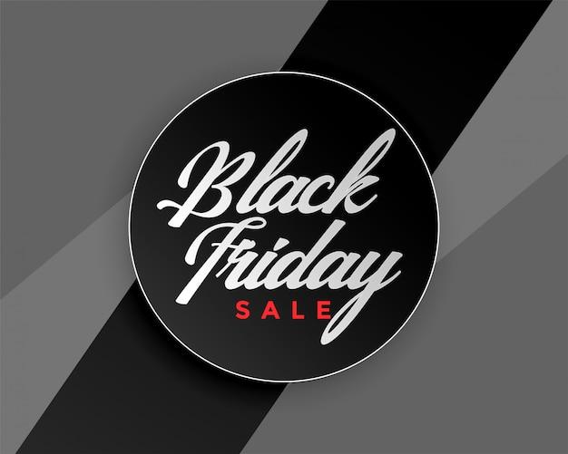 Design di banner elegante vendita venerdì nero