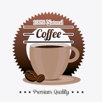 Design di bevande al caffè.