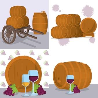 Design di bevande al vino