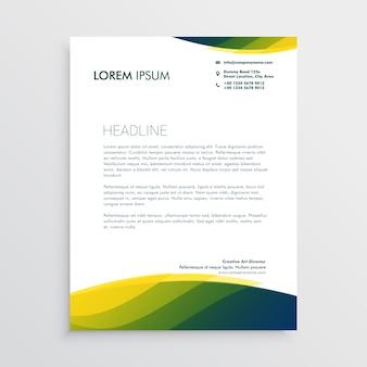 Design di carta intestata professionale