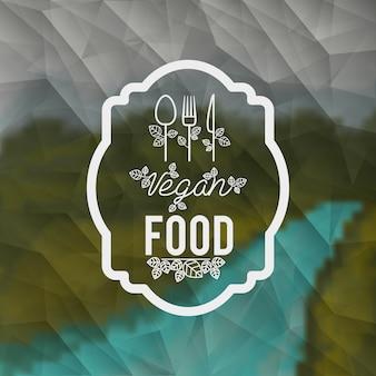 Design di cibo vegetariano