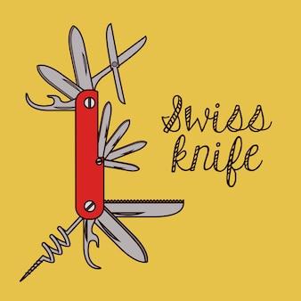 Design di coltellino svizzero