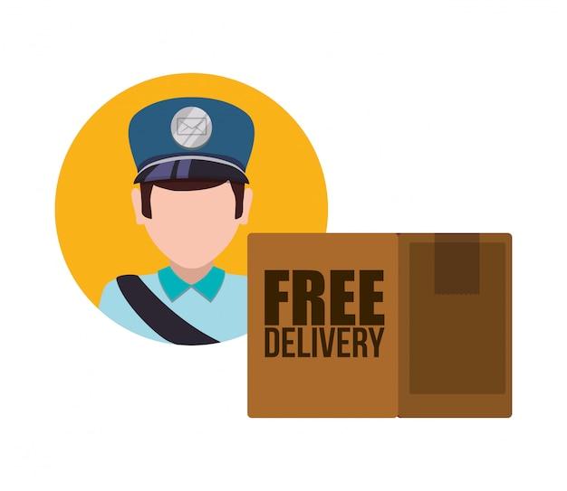 Design di consegna gratuito