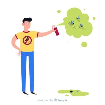 Design di controllo della zanzara