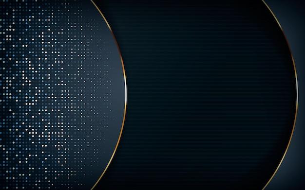 Design di dimensioni realistiche con riflessi argentati