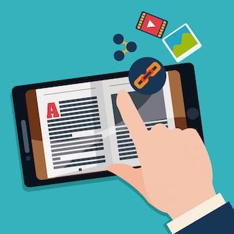 Design di ebook.
