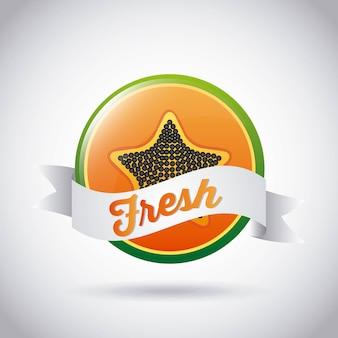 Design di frutta fresca