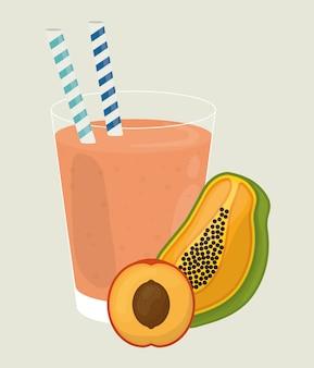 Design di frutta. illuistration
