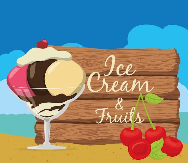 Design di gelato