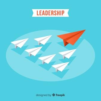 Design di leadership con aerei di carta