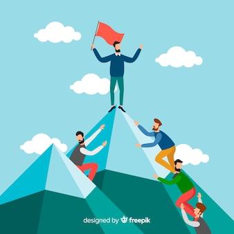 Design di leadership piatta