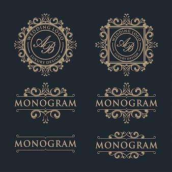Design di lusso modello logo