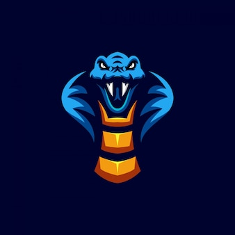 Design di personaggi a forma di testa di serpente