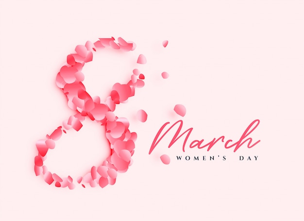 Design di poster bella giornata della donna
