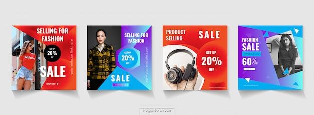 Design di poster di social media