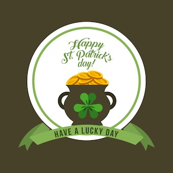 Design di saint patricks day