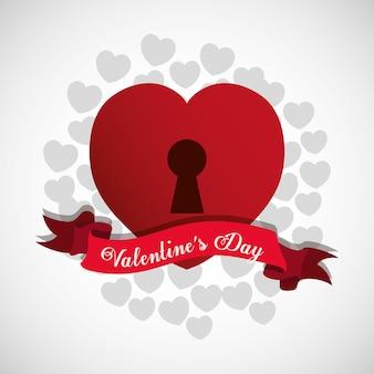 Design di san valentino