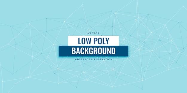 Design di sfondo tecnologia digitale low poly