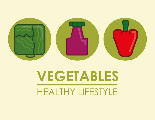 Design di stile di vita sano