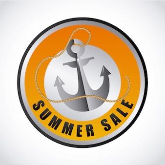 Design di vendita estiva