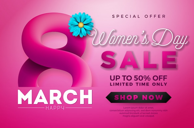 Design di vendita per donna