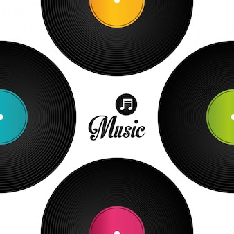 Design digitale musicale.