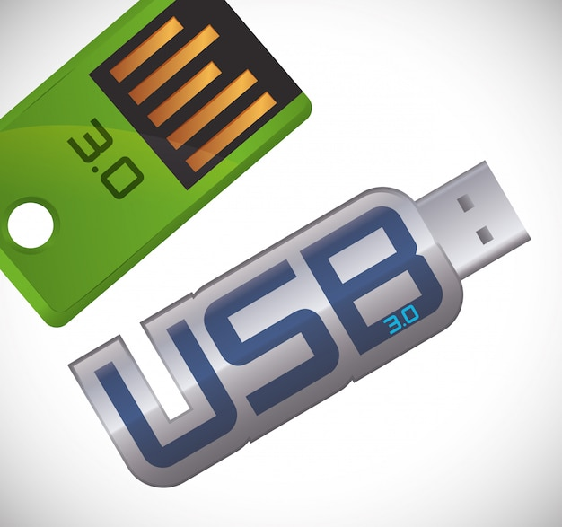 Design digitale usb