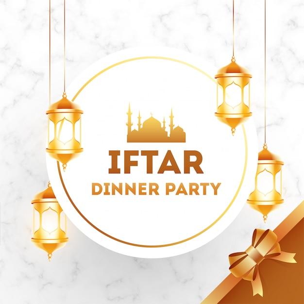 Design dinner dinner iftar