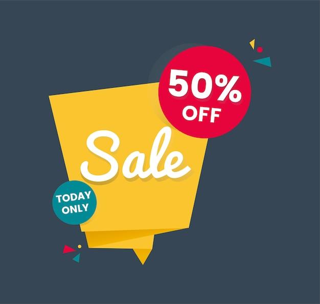 Design distintivo di vendita dello shopping colorato