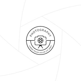 Design distintivo o etichetta di fotografia