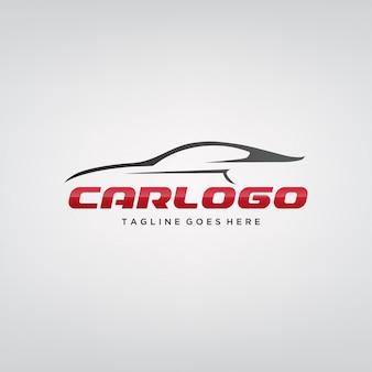 Design elegante logo auto