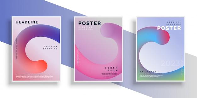 Design elegante poster flyer sfondo con lo spazio del testo