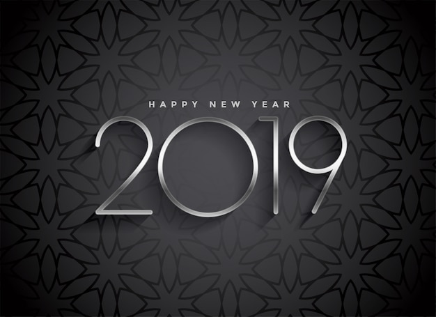 Design elegante sfondo scuro 2019