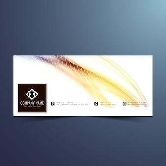 Design elegante timeline facebook